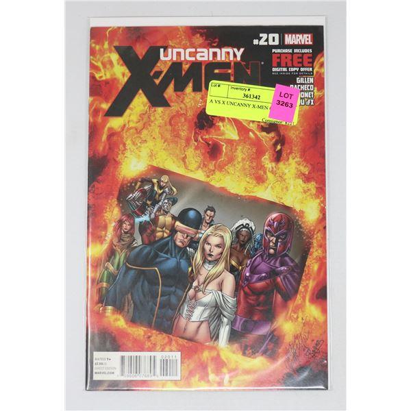 A VS X UNCANNY X-MEN #20