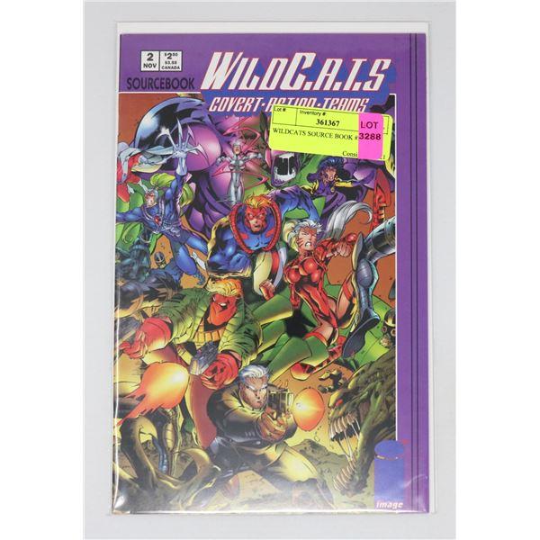 WILDCATS SOURCE BOOK #2