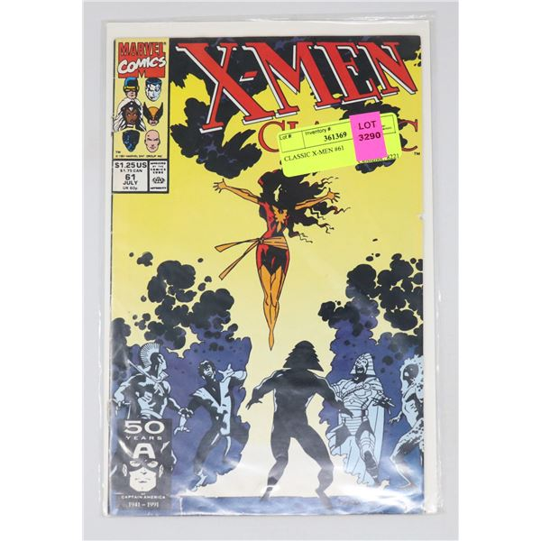 CLASSIC X-MEN #61