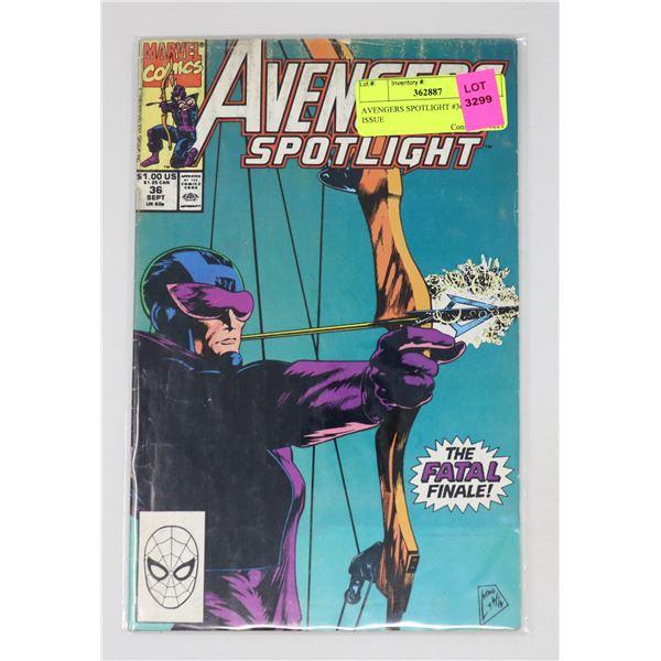 AVENGERS SPOTLIGHT #36 KEY ISSUE