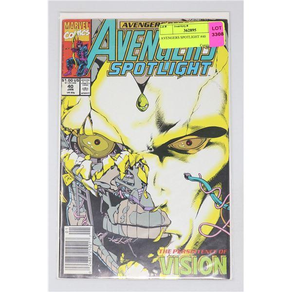AVENGERS SPOTLIGHT #40