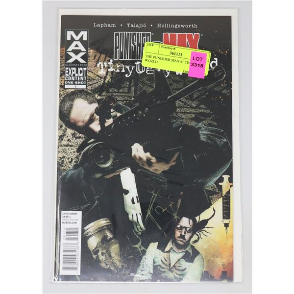 THE PUNISHER MAX #1 TINY UGLY WORLD