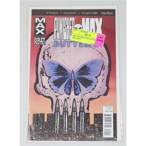THE PUNISHER MAX BUTTERFLY ONE-SHOT