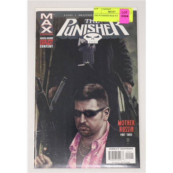 THE PUNISHER MAX #15