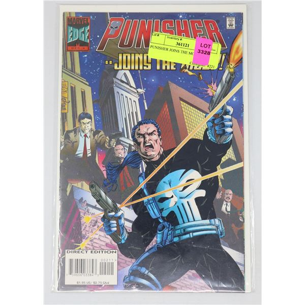 PUNISHER JOINS THE MOB