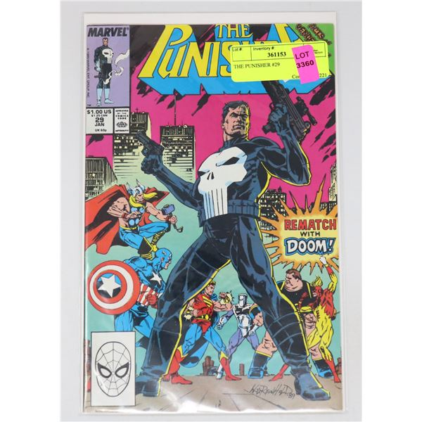 THE PUNISHER #29