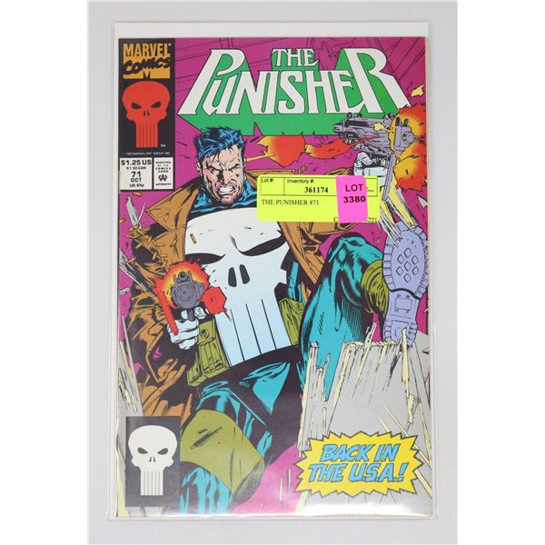 THE PUNISHER #71