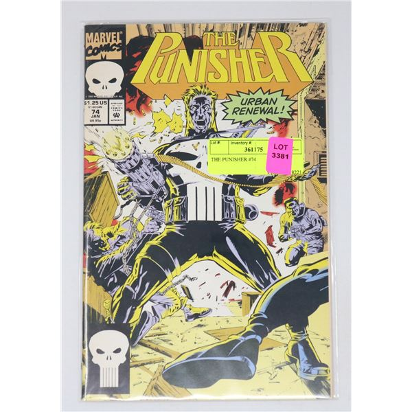 THE PUNISHER #74