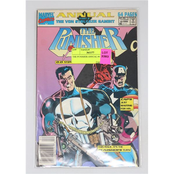 THE PUNISHER ANNUAL #4 1991