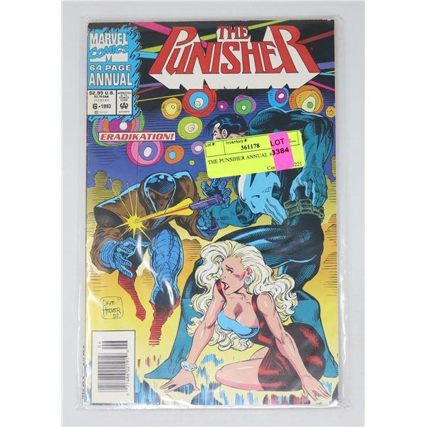 THE PUNSIHER ANNUAL #6 1993