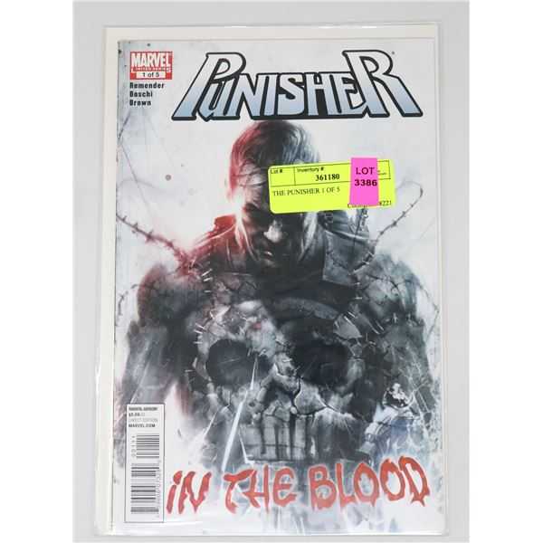 THE PUNISHER 1 OF 5