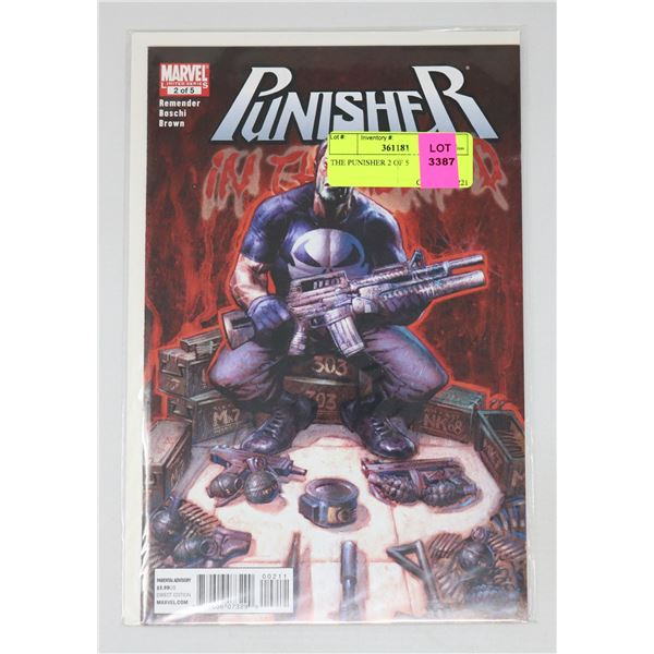THE PUNISHER 2 OF 5