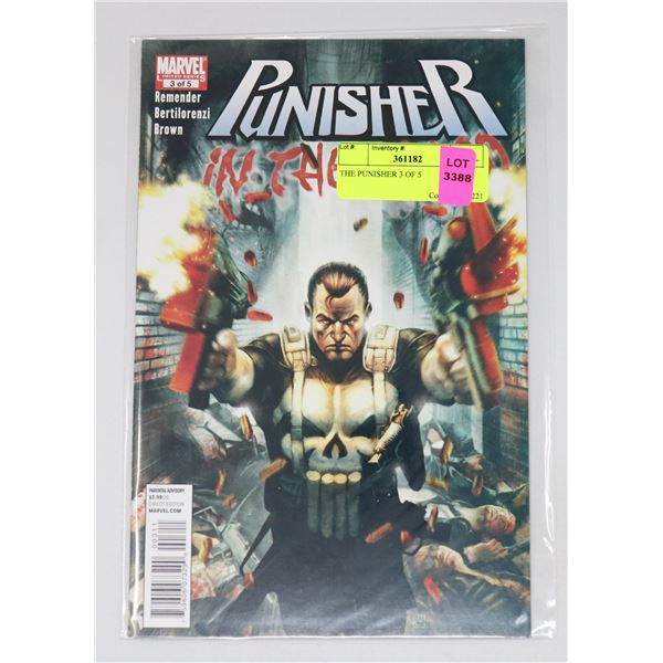 THE PUNISHER 3 OF 5