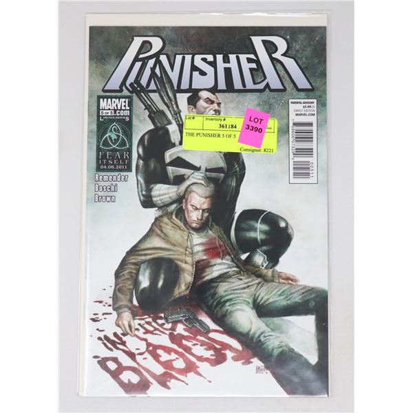 THE PUNISHER 5 OF 5