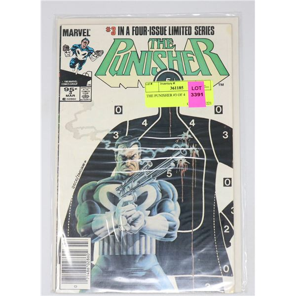 THE PUNISHER #3 OF 4