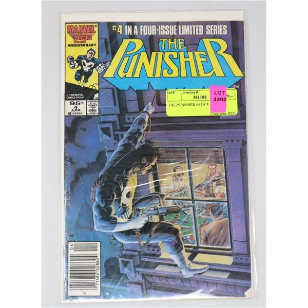 THE PUNISHER #4 OF 4