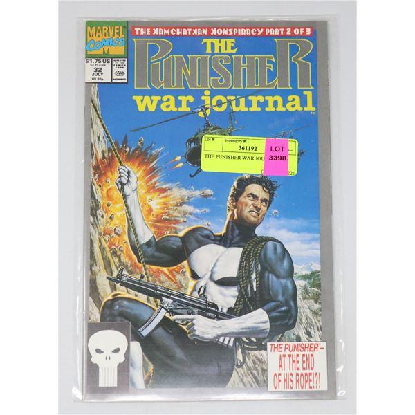 THE PUNISHER WAR JOURNAL #32