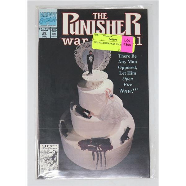 THE PUNISHER WAR JOURNAL #36