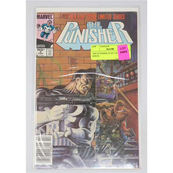 THE PUNISHER #2 OF 5 IN MINI SERIES