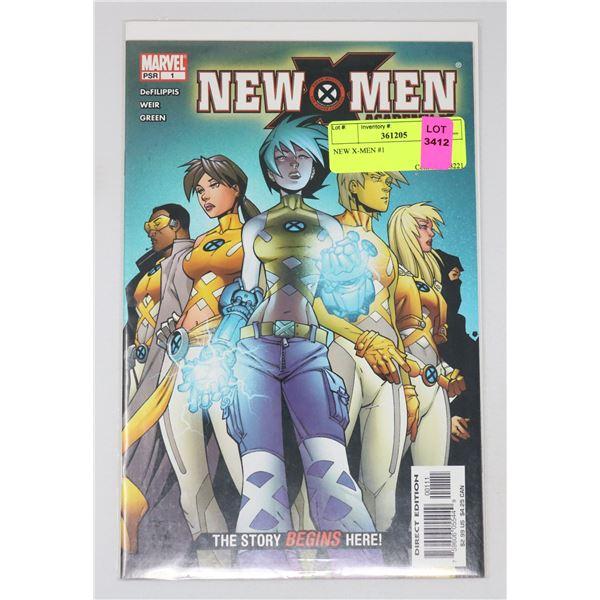 NEW X-MEN #1