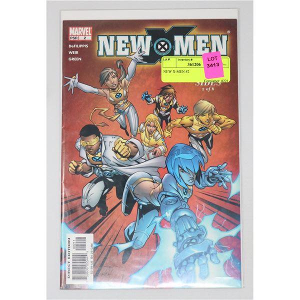 NEW X-MEN #2