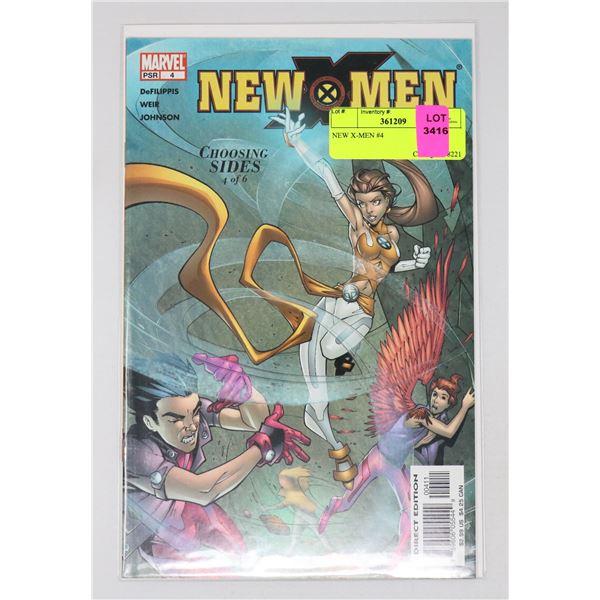 NEW X-MEN #4