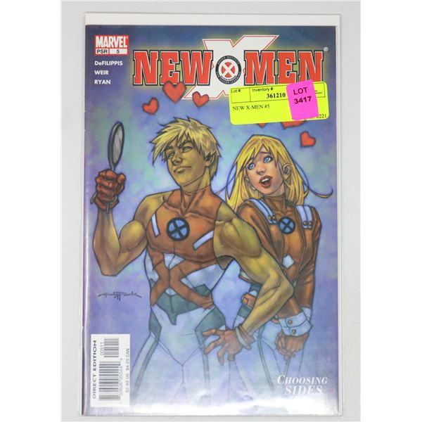 NEW X-MEN #5