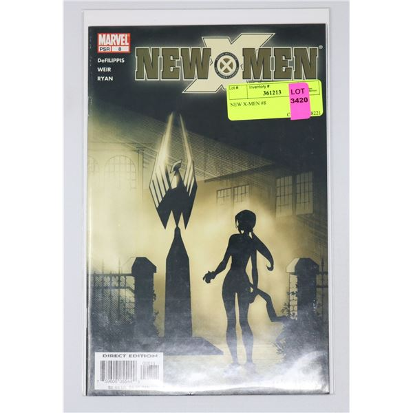 NEW X-MEN #8