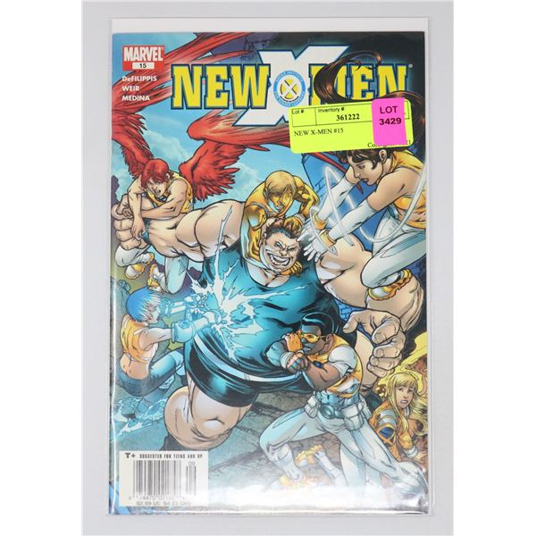 NEW X-MEN #15