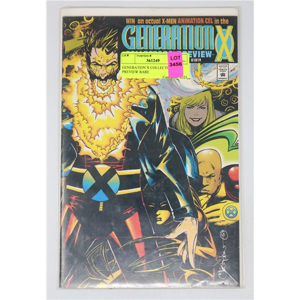 GENERATION X COLLECTOR'S PREVIEW RARE