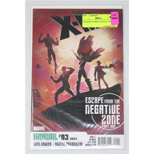 UNCANNY X-MEN ANNAL #3 2011