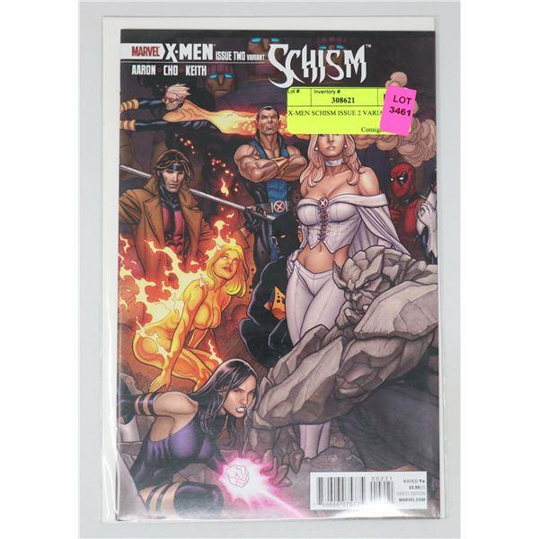 X-MEN SCHISM ISSUE 2 VARIANT