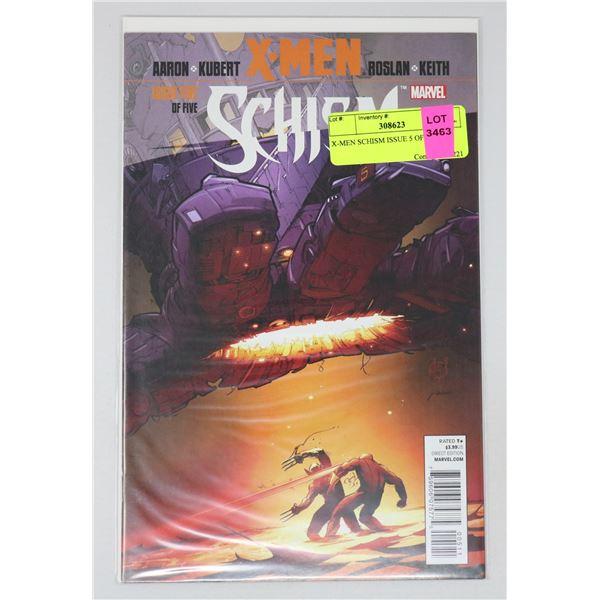 X-MEN SCHISM ISSUE 5 OF 5