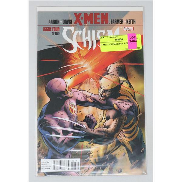 X-MEN SCHISM ISSUE 4 OF 5