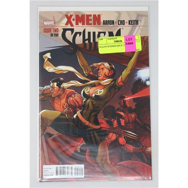 X-MEN SCHISM ISSUE 2 OF 5