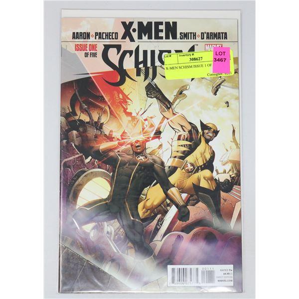 X-MEN SCHISM ISSUE 1 OF 5