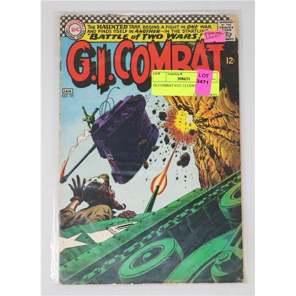 GI COMBAT #121 12 CENT ISSUE