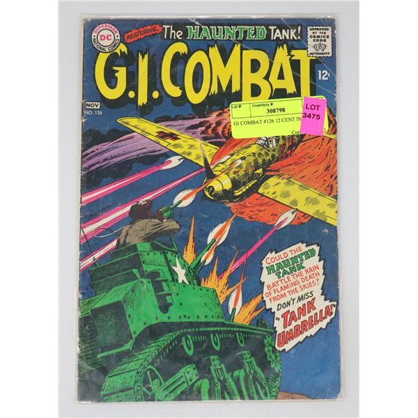GI COMBAT #126 12 CENT ISSUE