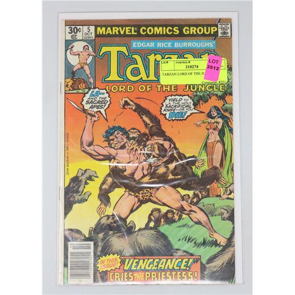 TARZAN LORD OF THE JUNGLE #5