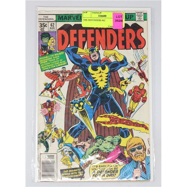 THE DEFENDERS #62