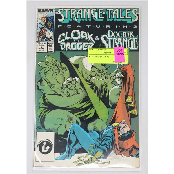 STRANGE TALES #6