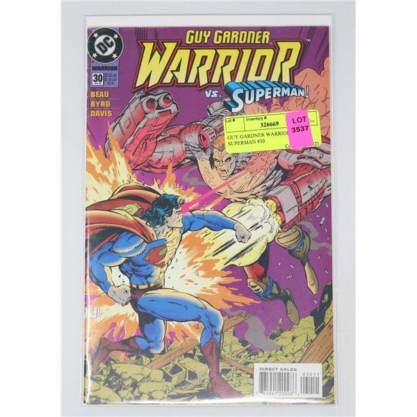 GUY GARDNER WARRIOR VS SUPERMAN #30