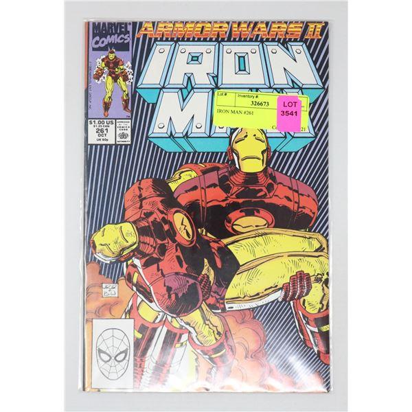 IRON MAN #261