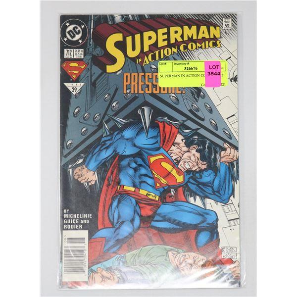 SUPERMAN IN ACTION COMICS #712