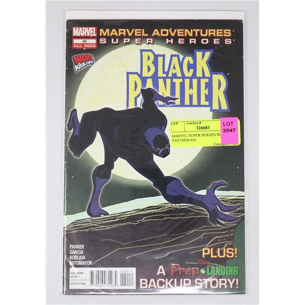 MARVEL SUPER HEROES BLACK PANTHER #20