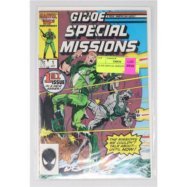 GI JOE SPECIAL MISSION #1