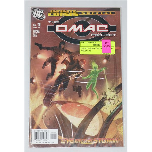 INFINITE CRISIS SPECIAL THE OMAC PROJECT #1