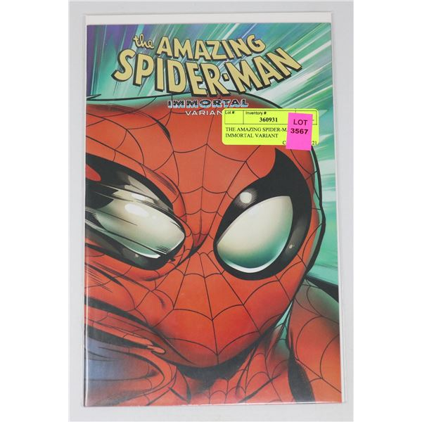 THE AMAZING SPIDER-MAN IMMORTAL VARIANT