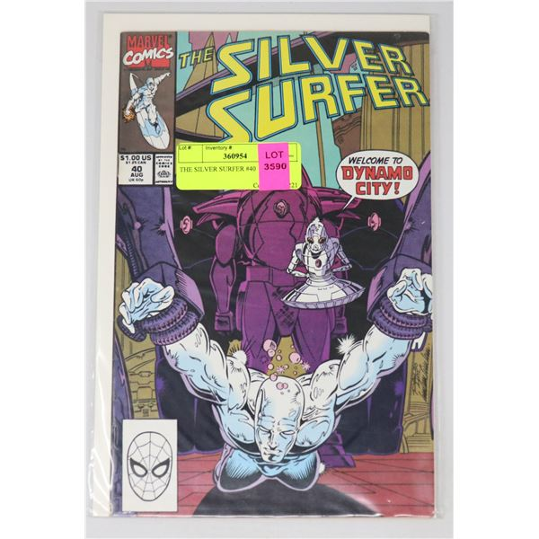 THE SILVER SURFER #40