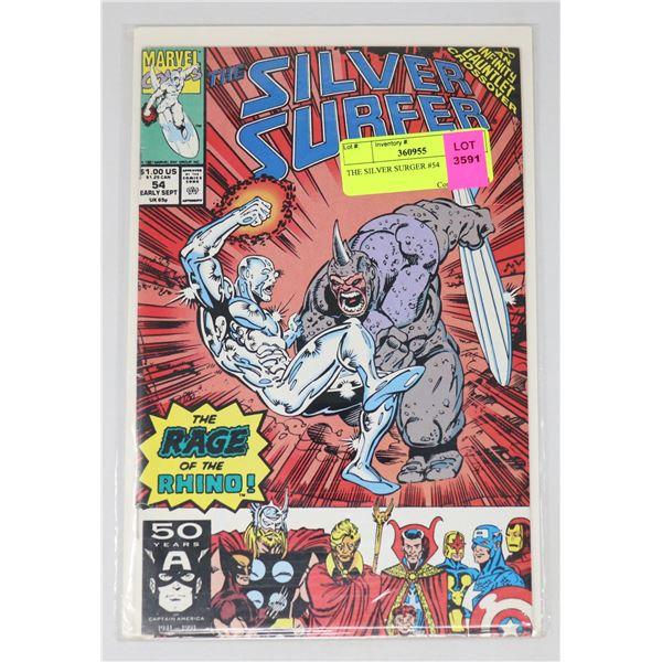 THE SILVER SURGER #54